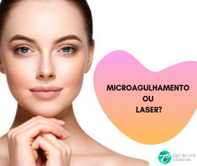 Microagulhamento ou laser facial. Qual o melhor para o rosto?